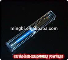 2014 en guangzhou fábrica de buena calidad pluma forma única de la muestra es gratuita