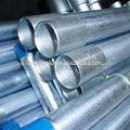 BS1387 / ASTM A53 tubo galvanizado / G.I. tubo