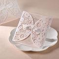 Ideal productos de tarjetas de boda/forma de mariposa de tarjetas de boda