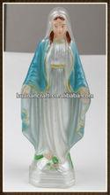 2013 religiosa de la resina maría estatua