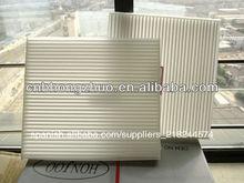 Buen auto lavable filtro de cabina 87139-12010 fabricante para toyota