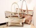 playa baratos bolsa transparente de lujo bolsos de mujer con estilo