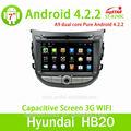 Auto radio para hyunda con android 4.2 capactive pantalla, gps, bt, ridio, fuction