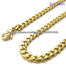 XLT-TN34 Nuevo diseño de la cadena de oro para los hombres