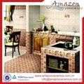 venta por mayor de diseño moderno antideslizante cerámica piso azulejo cocina