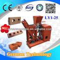 Ly1-25 bloque de tierra comprimida máquina manual