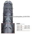 neumático de la bicicleta de la alta calidad