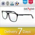 acetato marco óptico gafas