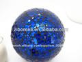 venta al por mayor de color hermoso agrietada de navidad bola de cristal