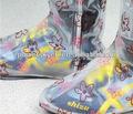 Printed design pvc shoe cover