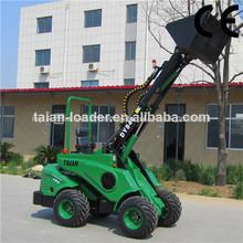 venta caliente cargador de ruedas pequeñas dy840 cargador de jardín tractor para la venta