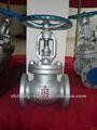 class150lb 300lb 600lb 900lb astm a216 wcb de acero al carbono de accionamiento manual de la válvula de globo