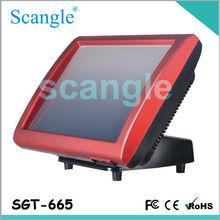 SGT-665 Todo en un sistema POS Touch Screen POS Terminal Punto de Venta