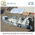 5.2 metros rígido barco de la costilla inflable para la venta
