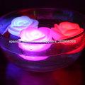 LED impermeable flotante velas decorativas flores
