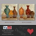 Pinturas al óleo de recipientes abstractos por mayor