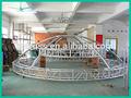 rp 2014 círculo de aluminio del techo truss portátil con sistema de etapa
