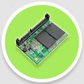 22 128gb pines sata integrado módulo de almacenamiento para la zona del cliente