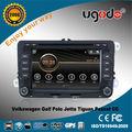 ugode sistema de navegación GPS de radio para Volkswagen Golf Polo Jetta