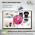 papel de transferencia de calor de inyección de tinta