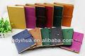 Alta- cuero de grado cuadernos de tapa