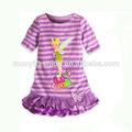 2014 encantadora niña flor de hadas vestido de los niños niñas vestidos