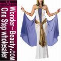 Blanco Púrpura Sexy Traje De Cleopatra