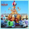 2013 nuevos productos juegos mecánicos voladores elefante en venta