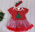 navidad traje de árbol niño ropa de niña china vestido ropa al por mayor