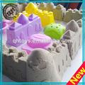 cremoso cinética de arena con el molde de arena