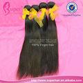 Camboya 7a cabello virgen 100% sin procesar, de pelo de extensión staight #2 16 pulgadas, el pelo afro suavizado
