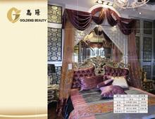 fasion diseño de la cortina de voile hecho en china