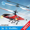fd1095b con energía de la batería de control remoto helicóptero personal