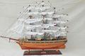 CUTTY SARK-modelo de barco de madera