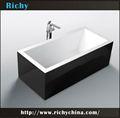 baignoires de couleur moderne