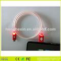 Micro cabo usb para vga cabo micro usb com luz led 3.5mm cabo mini usb