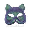 fantasia de festa de plástico cor de meia máscara de gato