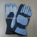 Hombres cerdo de cuero de mecánico guantes de protección de manos
