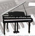 4013 Black 88-Keys Three-Legs Digital Grand Piano