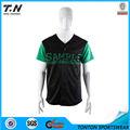 nuevo diseño de camiseta de béisbol personalizado