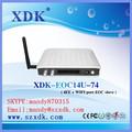 Wifi de economía de comunión con wifi, puente ethernet de televisión por cable ethernet over ethernet voip a través de coaxial
