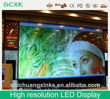 alta resolución llevó la pantalla de visualización ,bus pantalla led