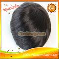 venda quente indiano virgem homens de cabelo humano peruca, perucas para homens negros ,indiano peruca peruca de cabelo homens