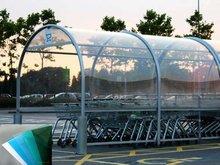 Chapa de 1mm de PET transparente para techos