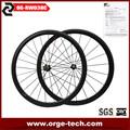 de alto perfil rueda material de carbono completa uso de bicicleta de carretera 38mm ruedas de bicicleta de carretera baratas
