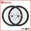 Super luz de bicicletas de carbono ruedas baratas, mate 50mm 3k/12k/18k/ud finalizar juego de ruedas de venta al por mayor
