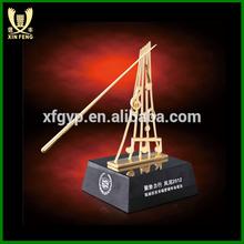 la costumbre de oro de trofeos de la música