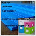 Pp feuille de plastique ondulé/boîte./conteneurmoto