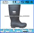 negro de trabajo de seguridad botas