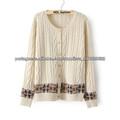 clássico e simples artesanal de confecção de malhas camisolas